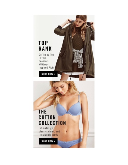 cotton collection & top rank campaign